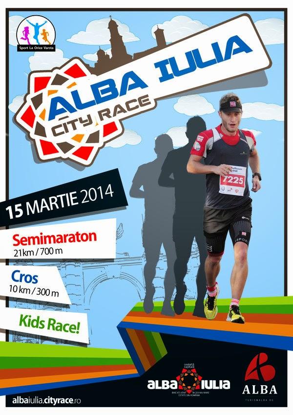 Invitaţie la Alba Iulia City Race 2014