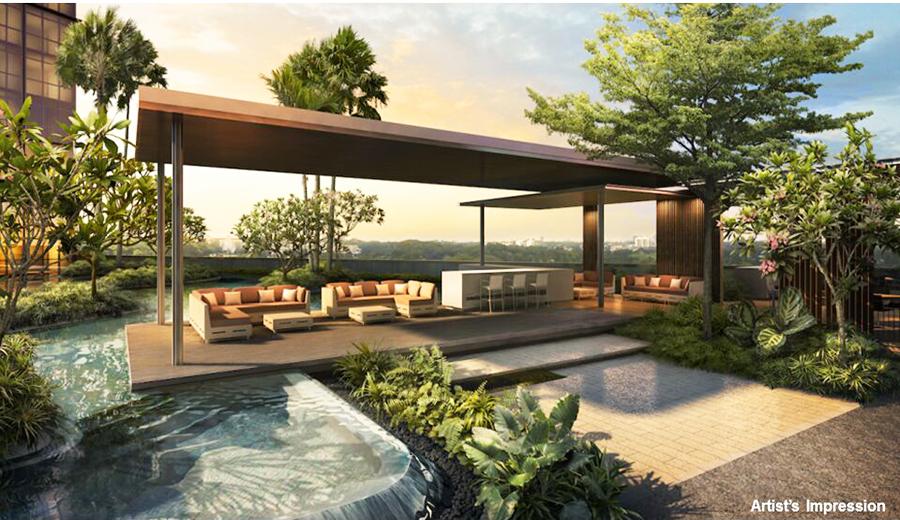 The Poiz Residences Water Lounge