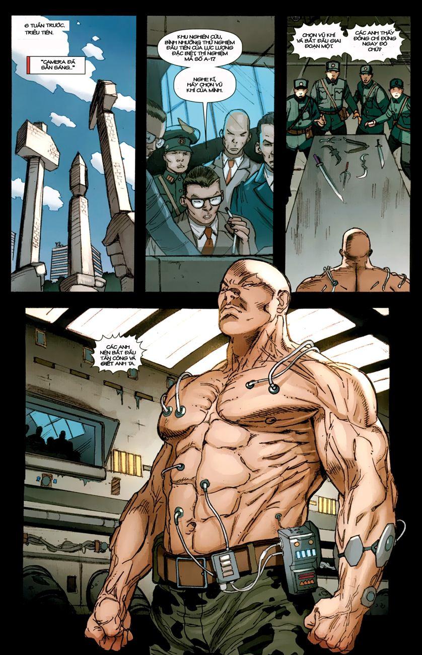 Ultimate Captain America chap 1 - Trang 9