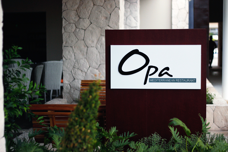opa restaurant cancun mexico resort