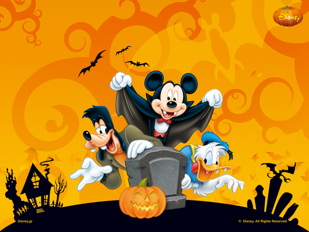 Free Desktop Wallpaper Disney Halloween