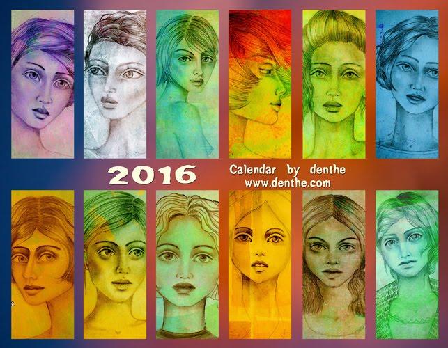 2016 calendar nr 2