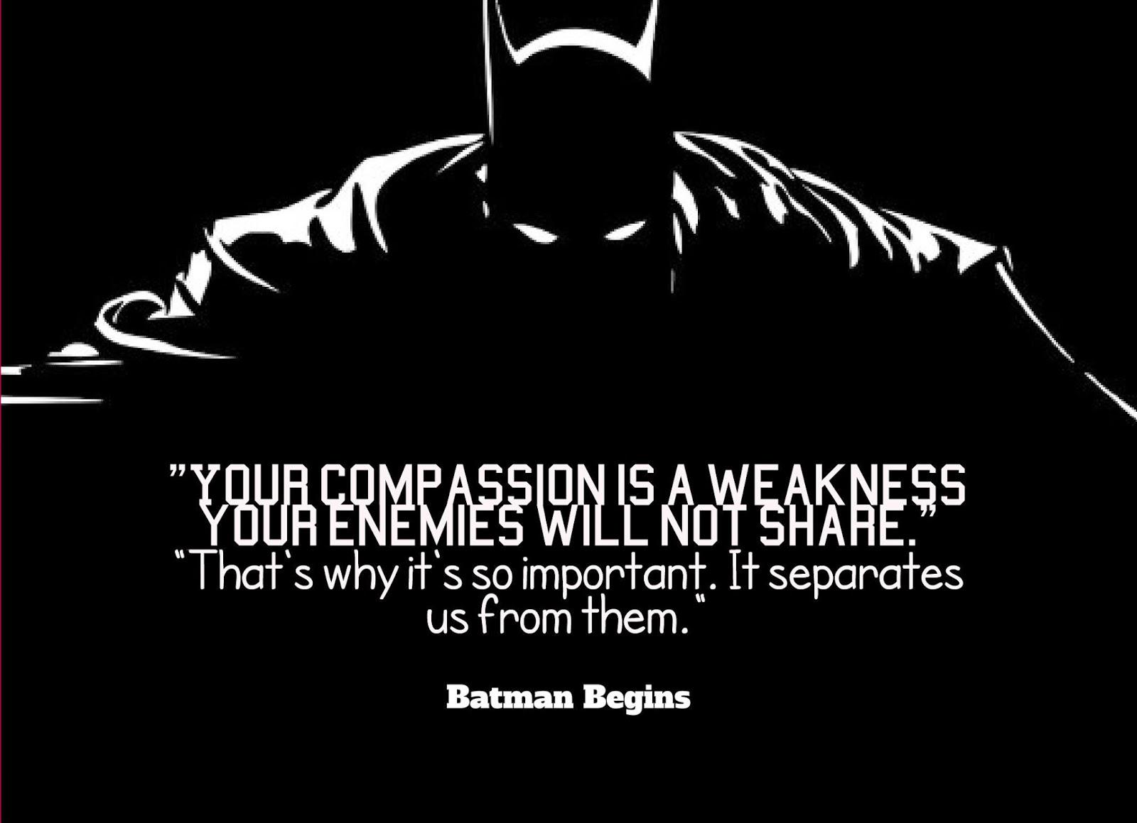 Quotes From Batman. Qu...