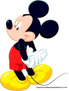 Imagen de dibujo de Mickey para imprimir