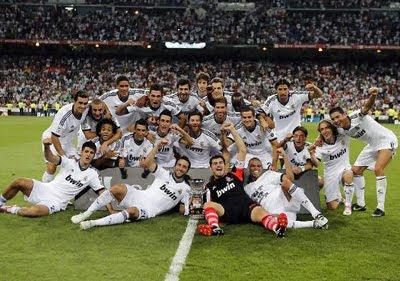Real Madrid Campeón de la Supercopa de España 2012