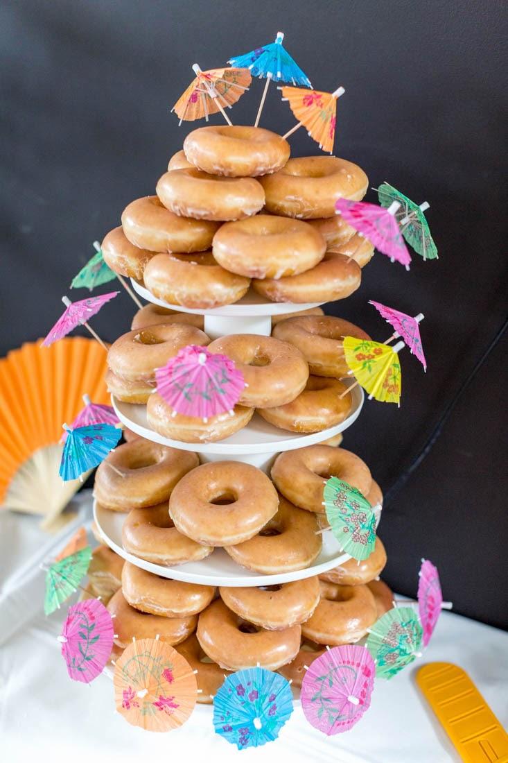 Metriculitis Madichard Wedding Krispy Kreme Doughnut Cake