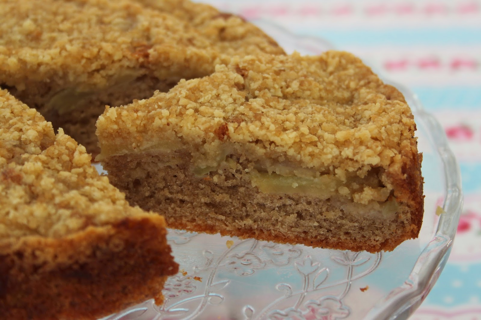 Joy Of Baking Apple Crumble Cake