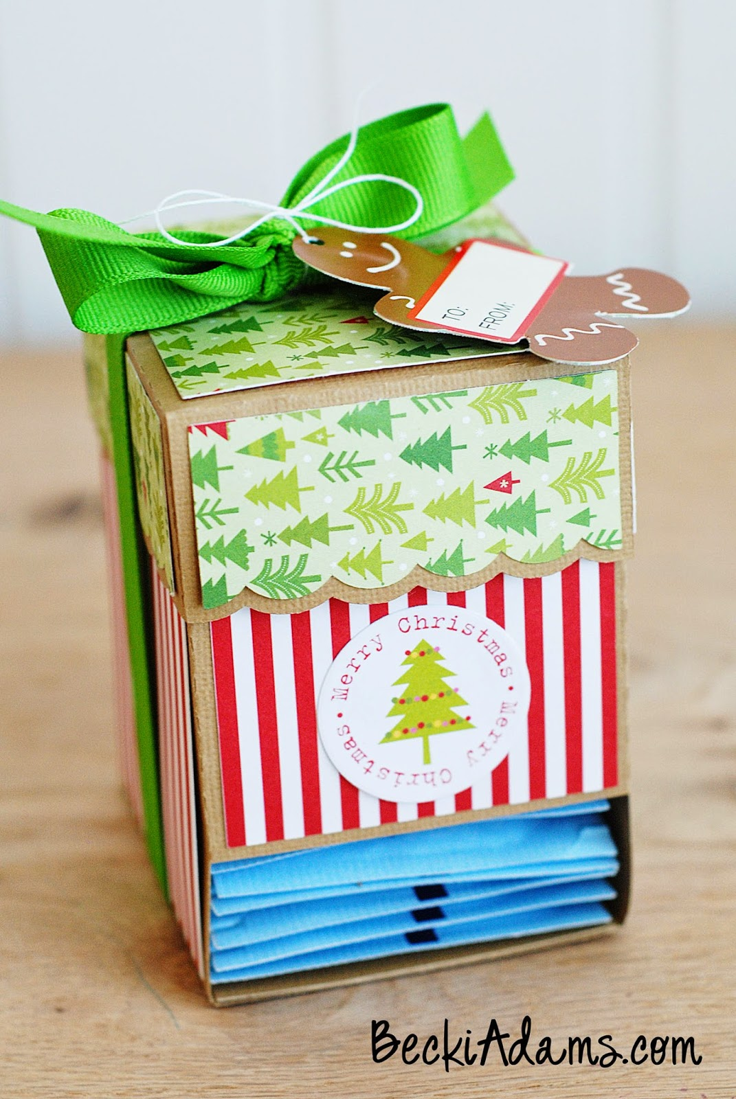 Easy Neighbor Gift Idea by @jbckadams #neighborgiftidea #christmasgiftidea #tea