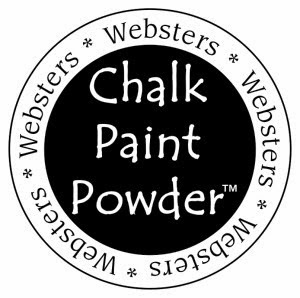 I used Websters Chalk Paint Powder with awesome results!