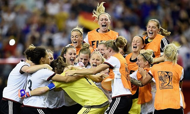 Highlights Germany 1 – 1 France (Pen 5-4) (Women World Cup)