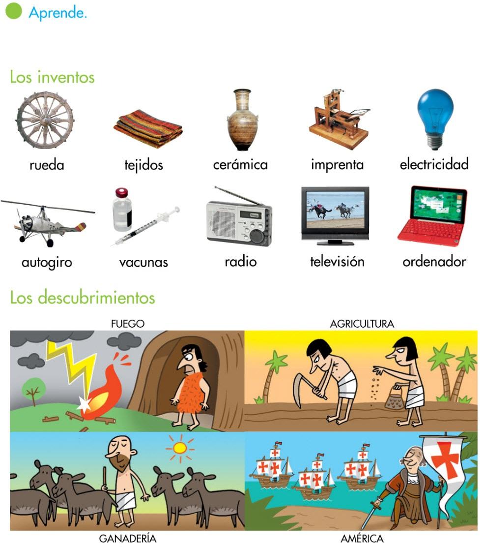 inventos i descubrimientos