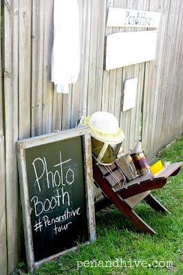 beekeeping photo booth
