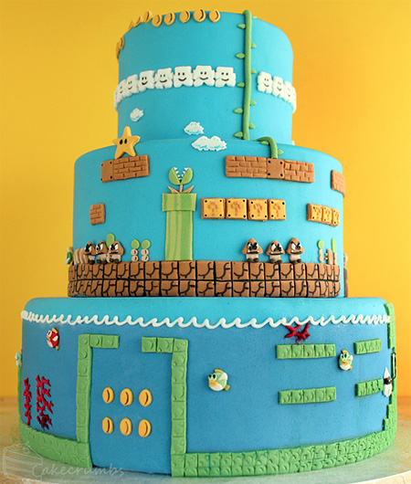 The Ultimate Super Mario Cake