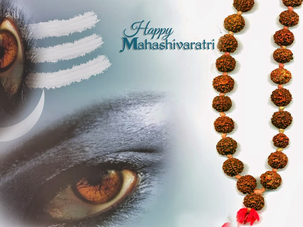 Happy Maha Shivaratri 2015 HD Wallpapers and Images shivji's eye