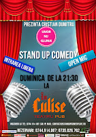 Stand-Up Comedy Open Mic Duminica