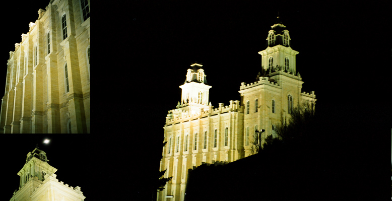 Manti Utah Temple, October 24, 2000