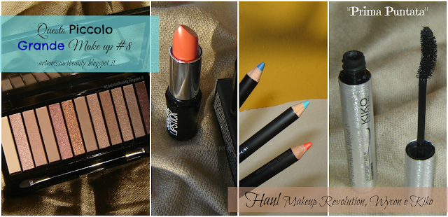 makeup revolution, wycon, kiko