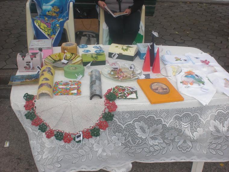Feirinha em Crestuma 2012