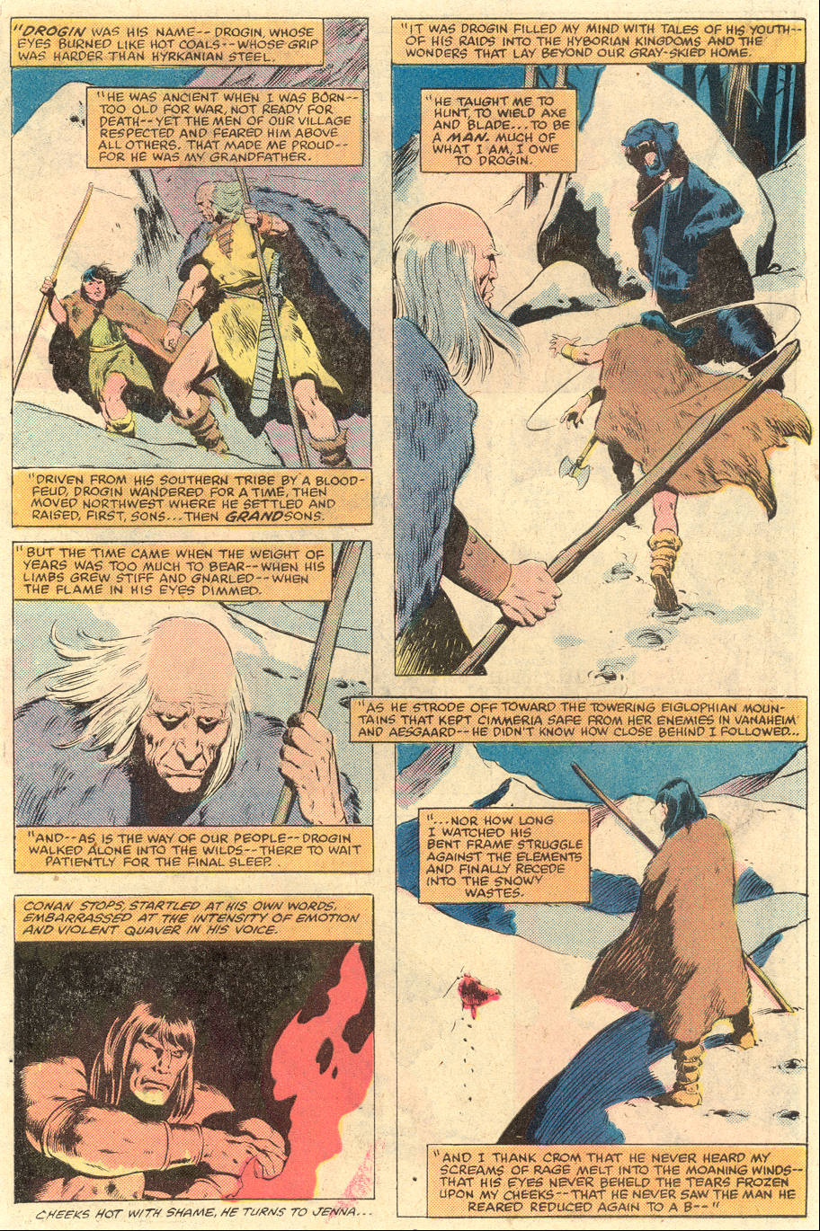 Conan the Barbarian (1970) Issue #119 #131 - English 5