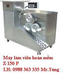 Máy ngành dược, máy chuyên làm viên hoàn mềm chất lượng cao.