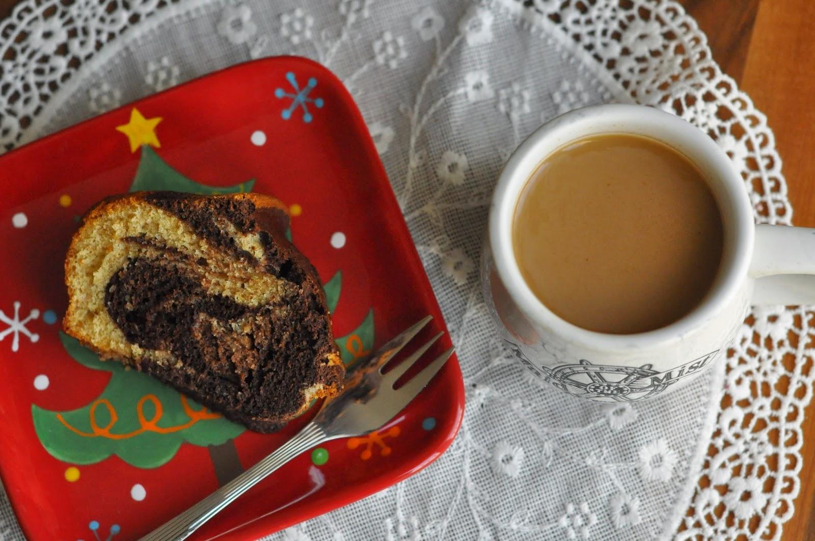 Kakaolu vanilyali kek - kek tarifi - kahve - chocolate vanilla cake