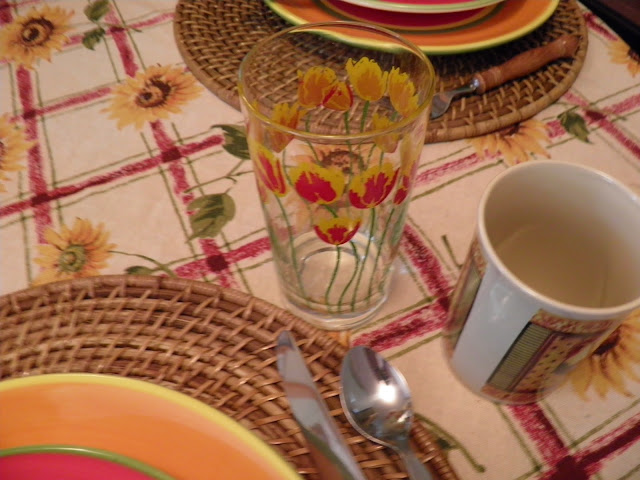 sunflower, late summer tablescape