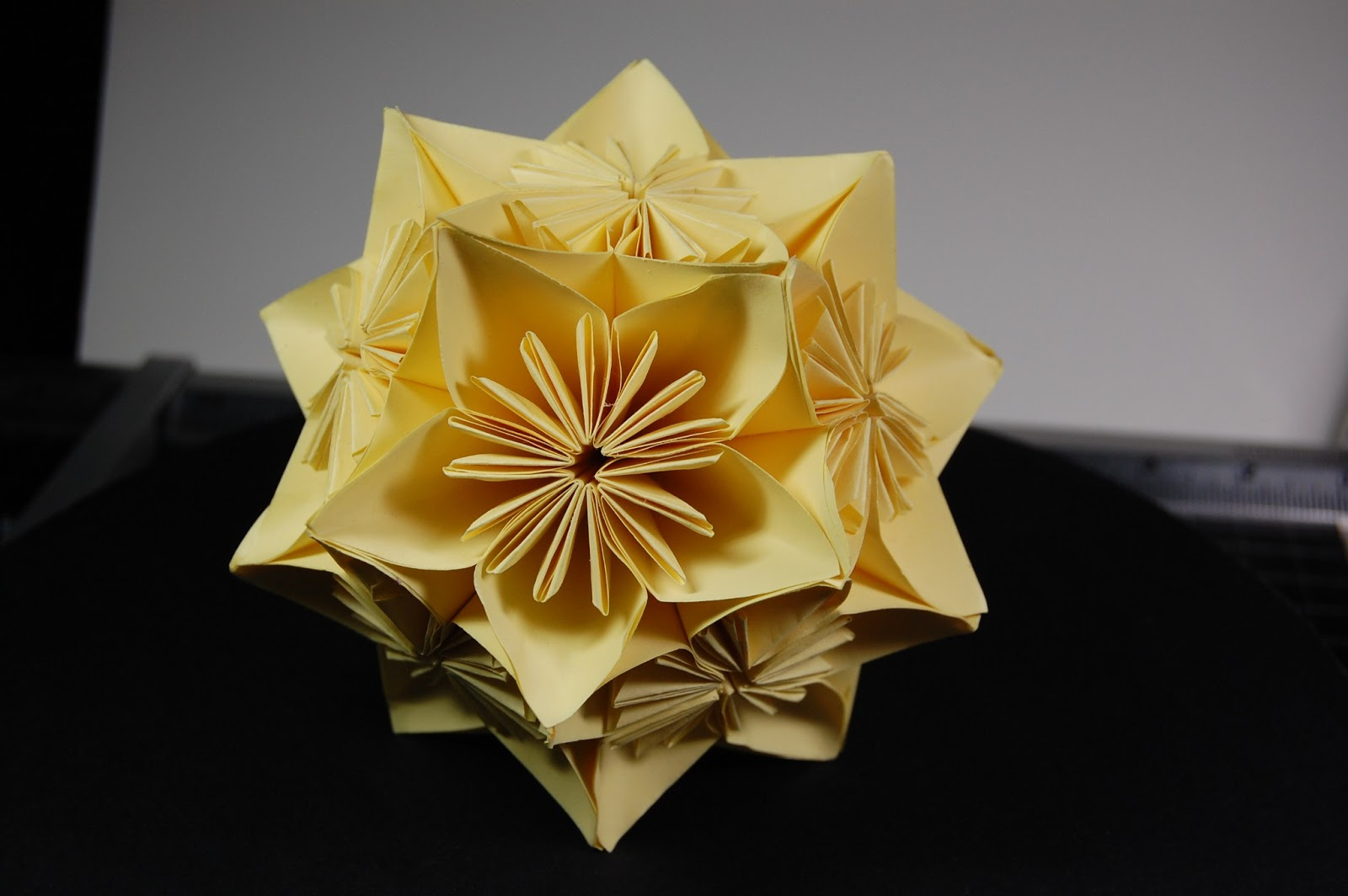 Sigis wild tails and creations kusudama origami flower ball if you keep the tips nicely together you will have no trouble finishing a tidy ball mightylinksfo