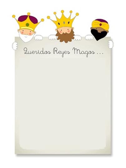 Worksheet. Blog El Alma de la Fiesta Carta de los Reyes Magos para imprimir