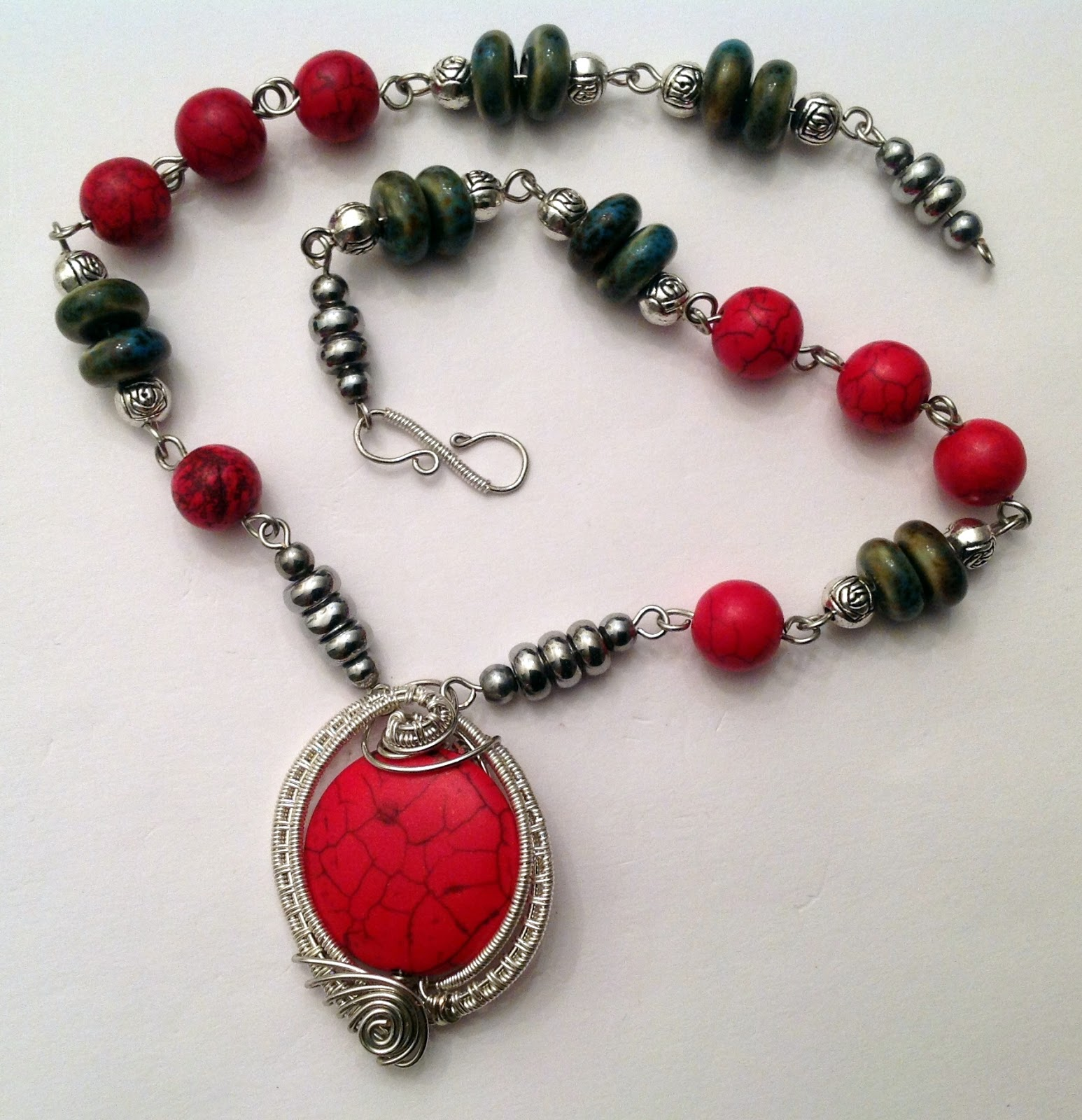 Perfectly Twisted Handmade Wire Wrapped Beaded and Gemstone Jewelry ...