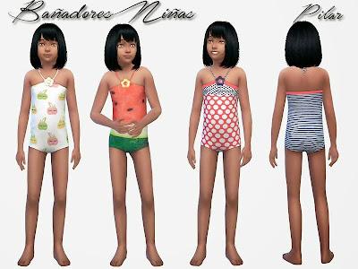 18-05-2015 Bañadores niñas