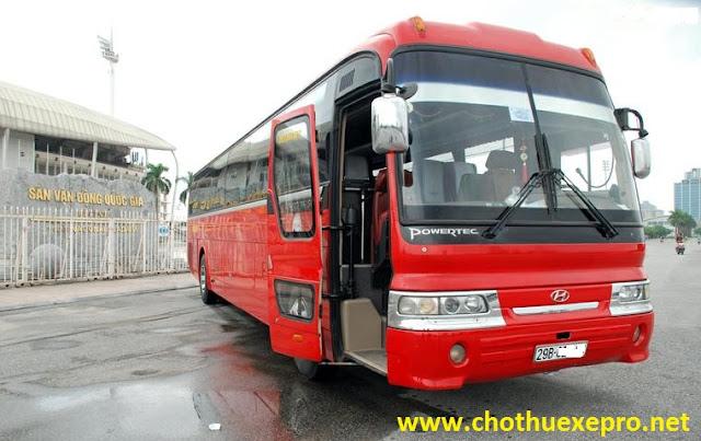 Cho thuê xe 45 chỗ Huyndai Hi-Class tại Hà Nội