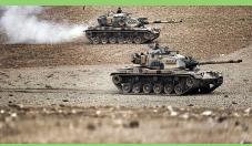 La coalición internacional bombardea al EI para defender el enclave kurdo en Siria.