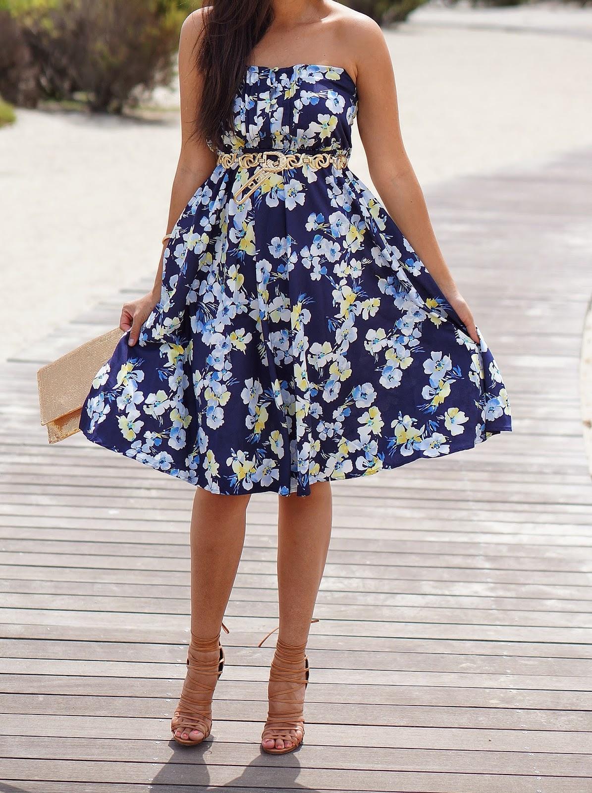 LC Lauren Conrad Floral Dress