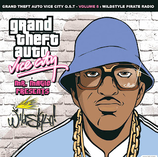 GTA Vice City Wildstyle Pirate Radio CD Capa