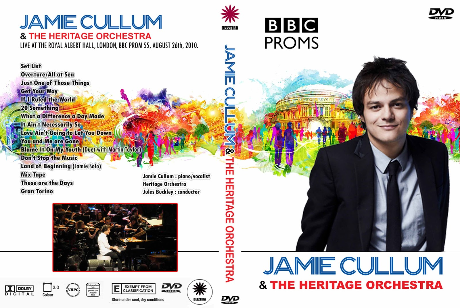 Youdiscoll jamie cullum and the heritage orchestra bbc for The heritage orchestra