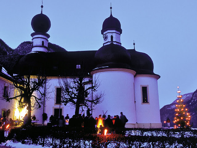 ST. BARTHOLOMEW'S CHURCH - BERCHTESGADEN, GERMANY