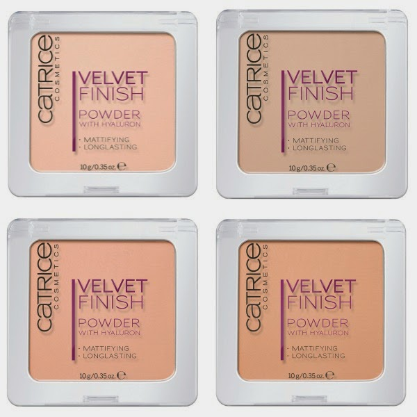 CATRICE Velvet Finish Powder with Hyaluron NEU*