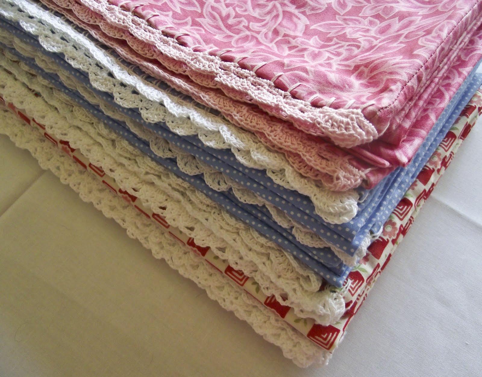 Sara Vs Sarah Crochet Edge Pillowcase Tutorial Part 1