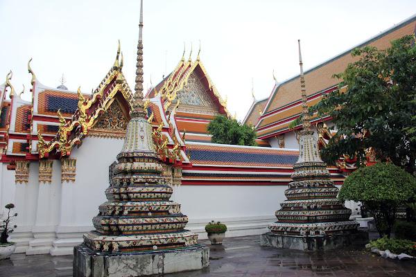 Ceramica y azulejos del templo Wat Pho de Bangkok