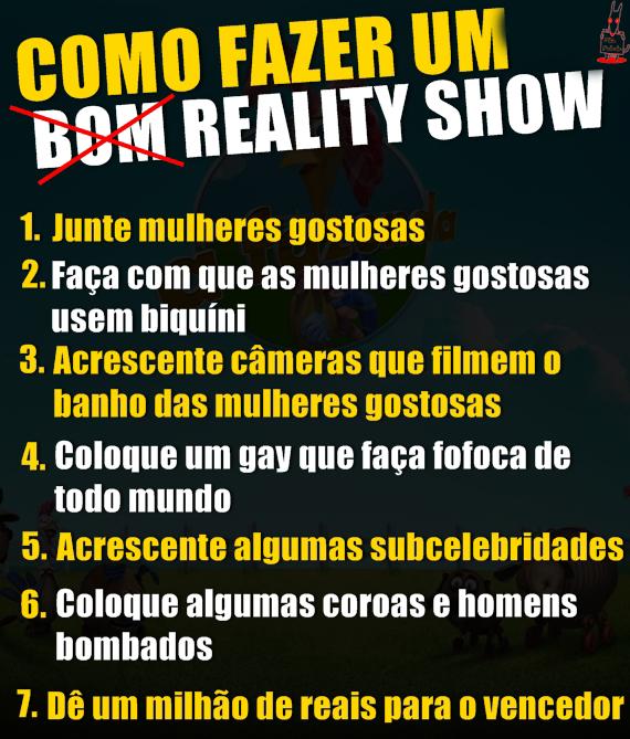 meme Como Fazer Um Reality Show