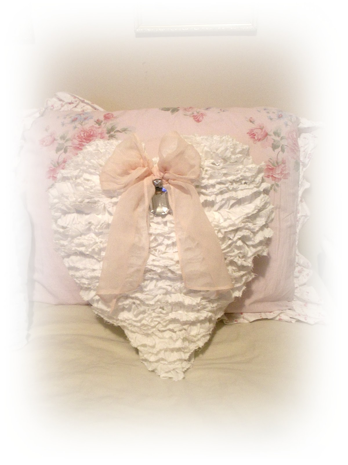Ruffle Heart for Sale :)