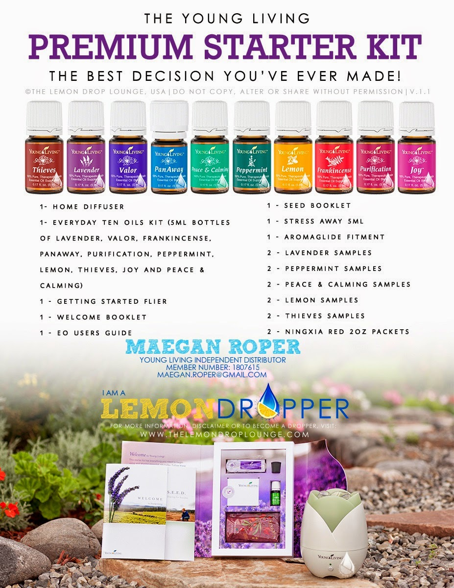 Ask Me About Young Living Essential Oils!