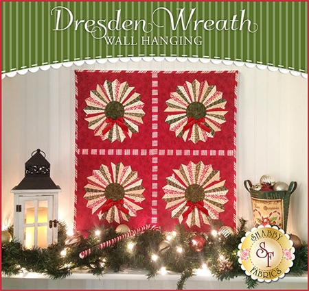 Dresden Wreath Wall Hanging using Strip-It | Tutorial
