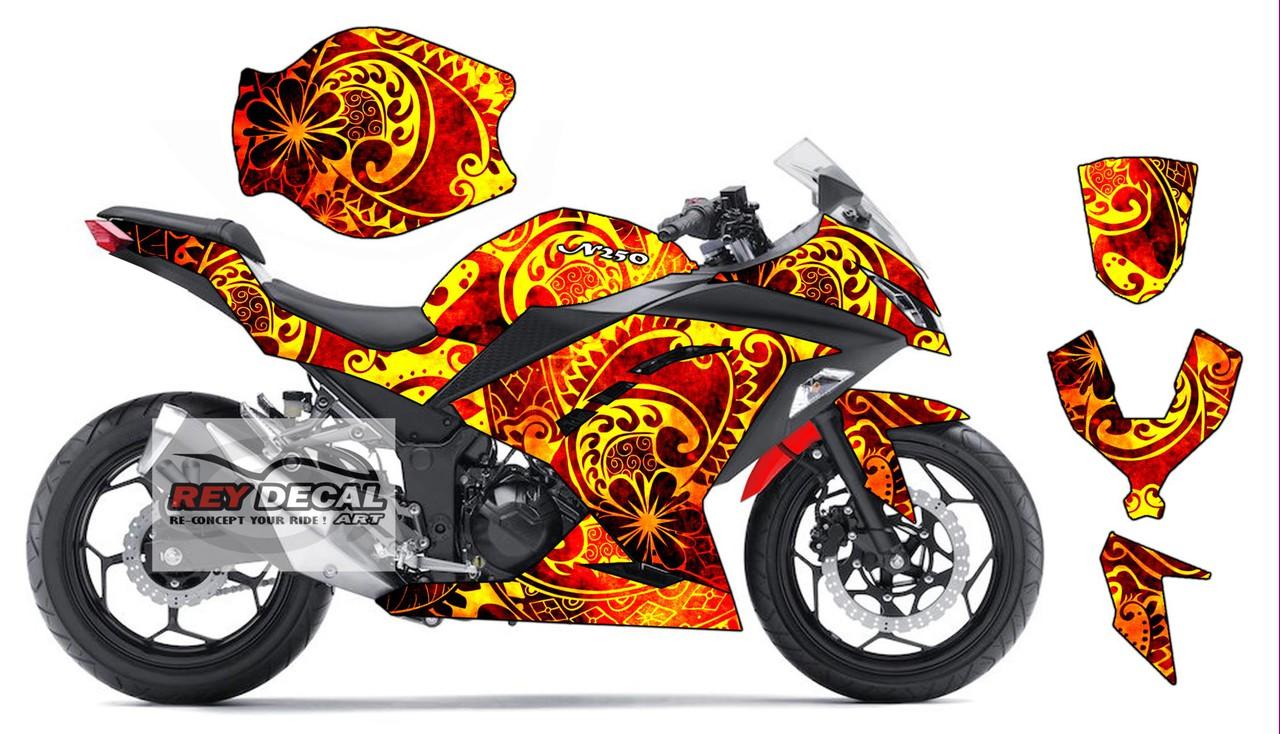 STIKER MOTOR DAN MOBIL Stiker Motor Cbr