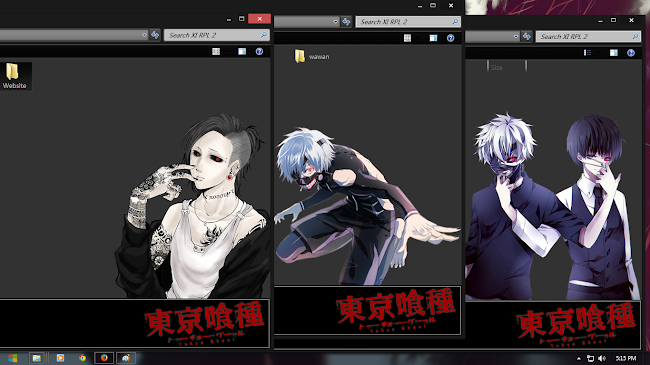 Tokyo Ghoul Black Edition by Shiroskin 4