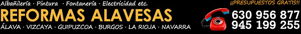REFORMAS EN VITORIA-GASTEIZ Y ÁLAVA - 630 956 877