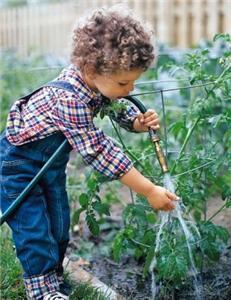 Κηπουρική και παιδιά