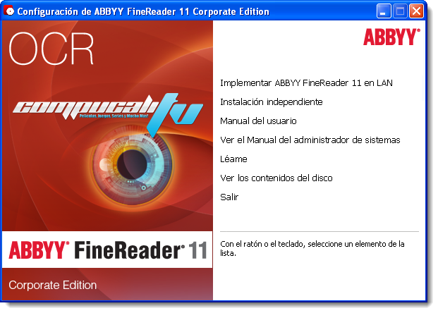 ABBYY FineReader 11 Corporate Edition Español 2012