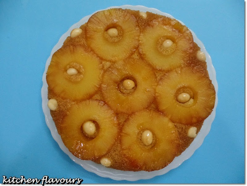 Mango Upside Down Cake With Macadamia Nuts Recipes — Dishmaps