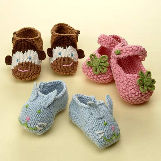Knit Baby Shoes Pattern Free : Knitting Patterns Free: Baby Shoe Knitting Patterns